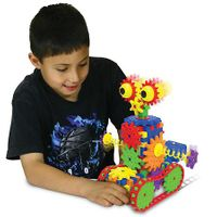 The Learning Journey Techno Gears STEM Construction 2 Pack Set - Dizzy Droid & Zany Trax 4.0